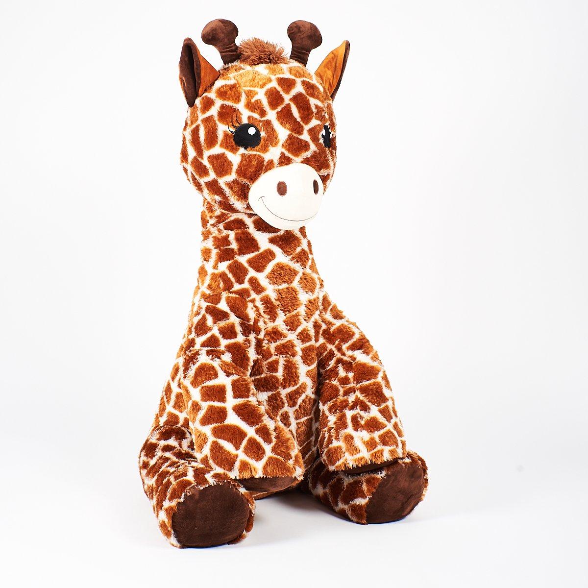 Girafe Assise 105 Cm - Peluches Animaux - La Grande Récré avec Jeux De Girafe Gratuit