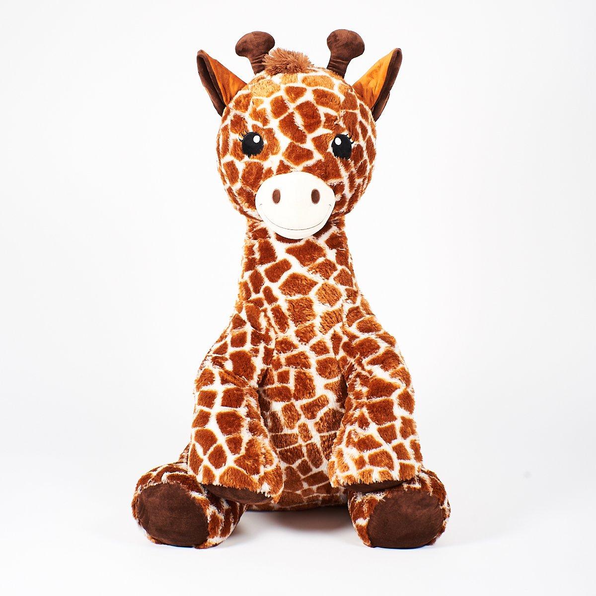 Girafe Assise 105 Cm - Peluches Animaux - La Grande Récré destiné Jeux De Girafe Gratuit