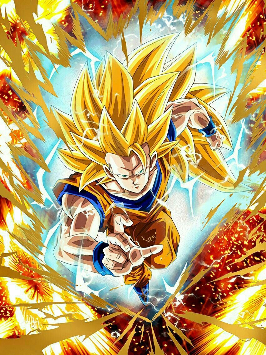Goku Ss3 #dbz #db #dragonball | Personnages De Dragon Ball encequiconcerne Dessin Animé De Dragon Ball Z