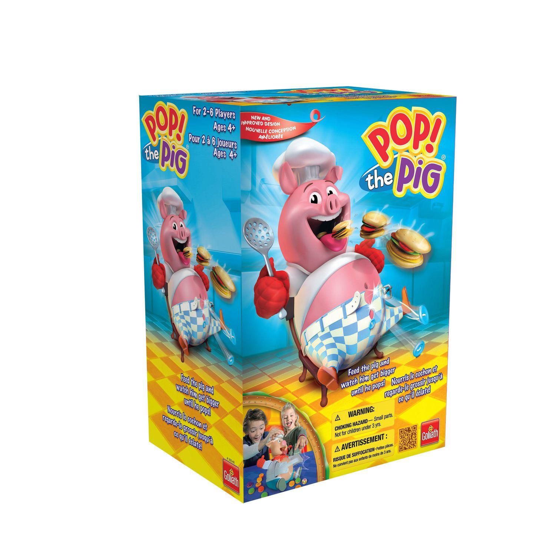 Goliath Games - Jeu Pop The Pig concernant Jeux Pour Bébé En Ligne 2 Ans