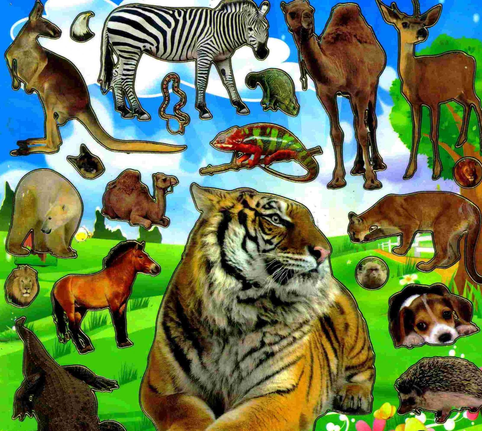 Gommettes Animaux D'afrique tout Les Animaux De L Afrique