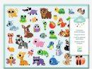Gommettes Des Petits «Bébés Animaux» Djeco Multicolore - Un tout Apprendre Les Animaux Jeux Éducatifs