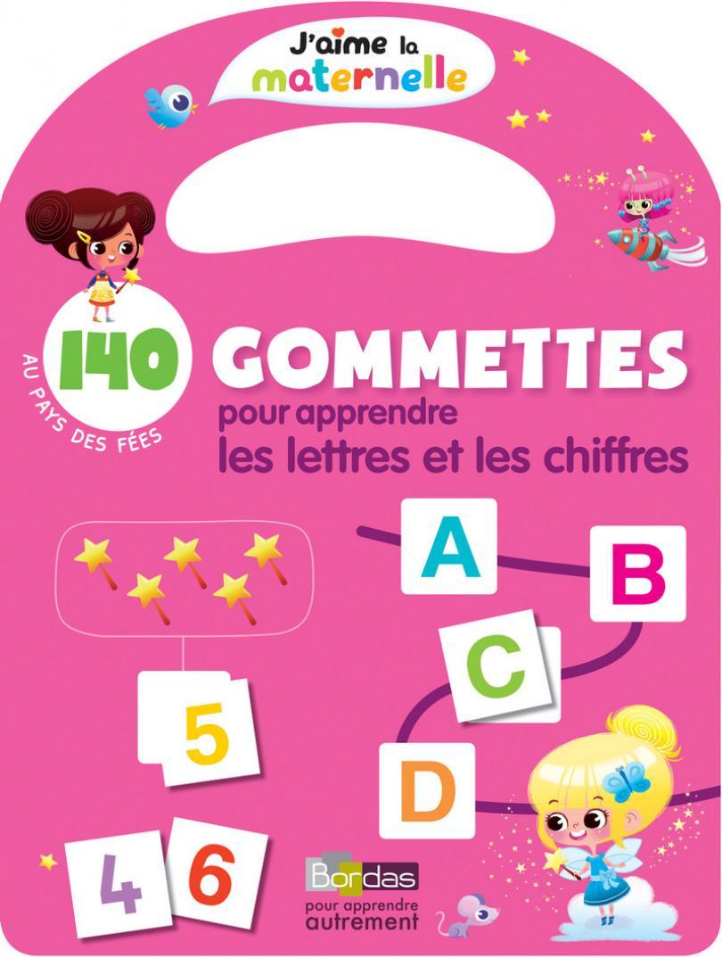 Gommettes Fées * Cahier D'activités/d'exercices | Bordas Éditeur intérieur Exercice Pour Apprendre L Alphabet En Maternelle