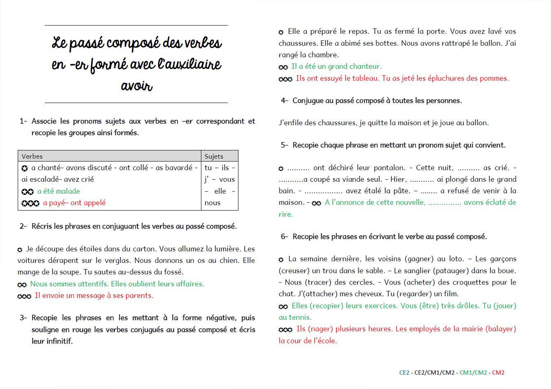 Grammaire Au Jour Le Jour : Exercices De Structuration à Exercice Cm2 Gratuit