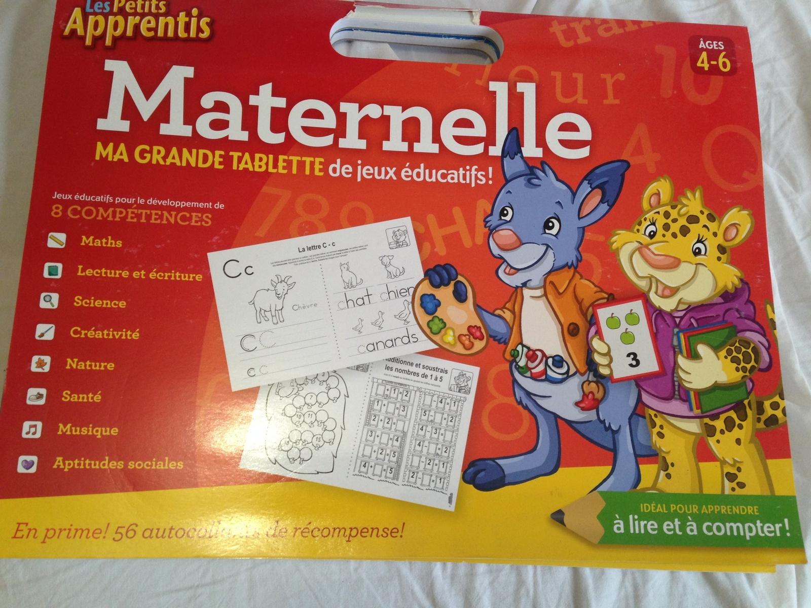Grand Cahier D'exercice De Maternelle - Charlotteblabla: concernant Cahier D Activité Maternelle