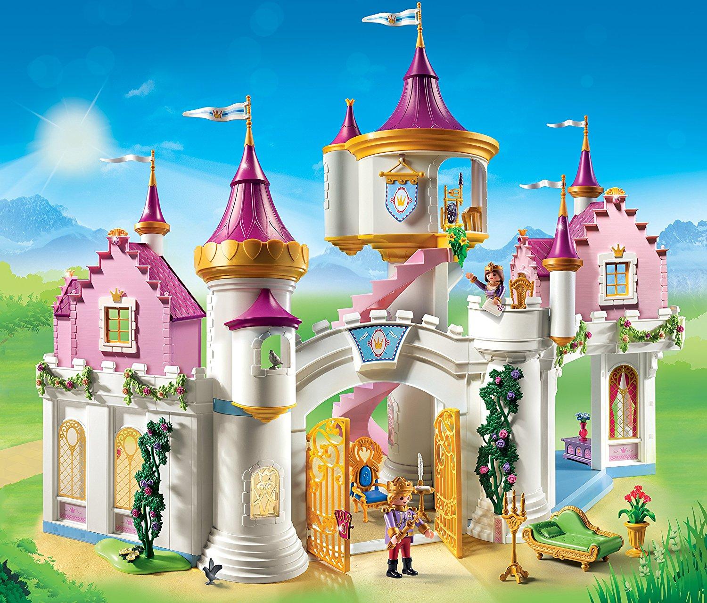 Grand Château De Princesse 6848 Playmobil - Château Fort Playmobil pour Dessin Chateau Princesse