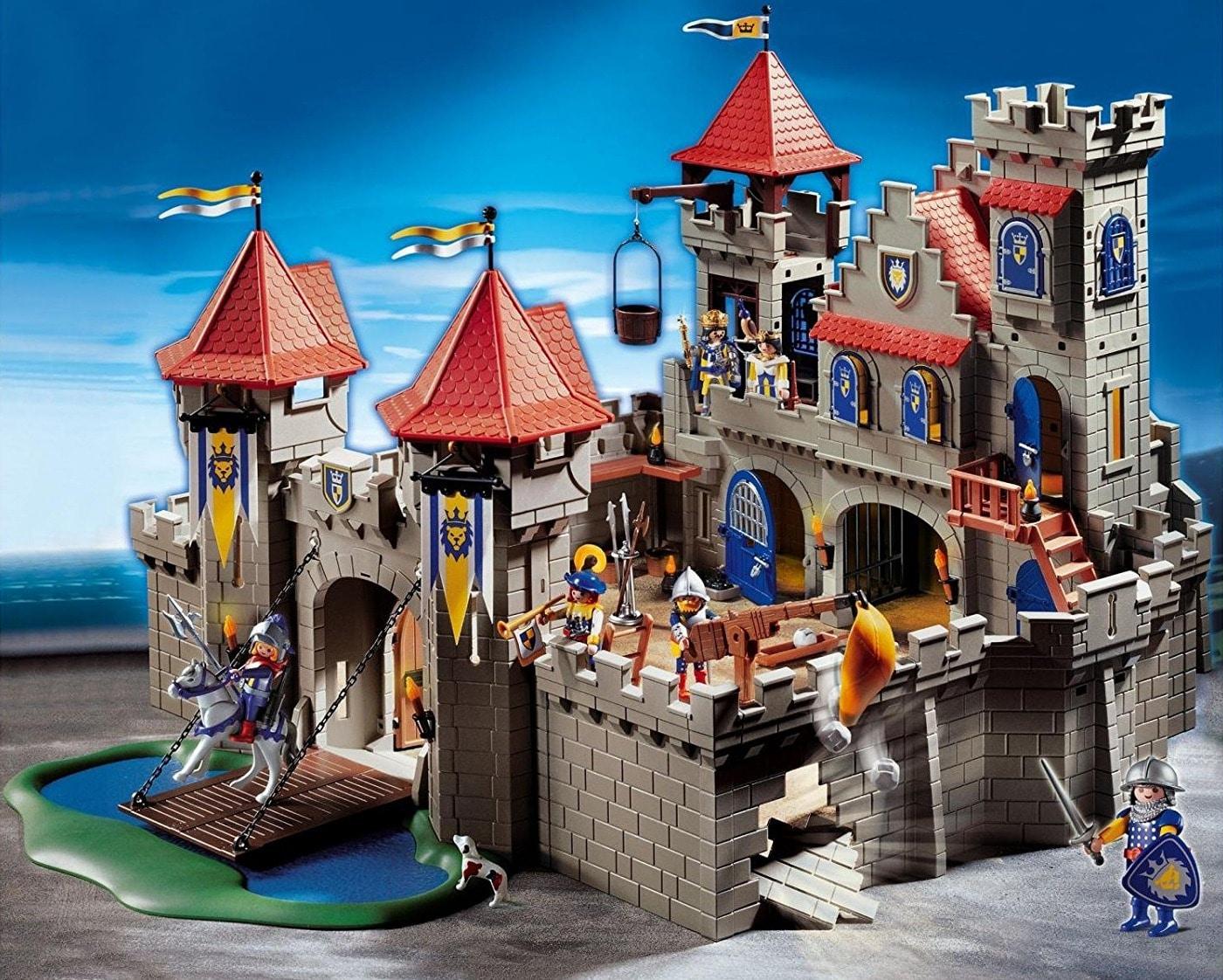 Grand Château Royal Du Lion 3268 Playmobil - Château Fort Playmobil à Image De Chateau Fort A Imprimer
