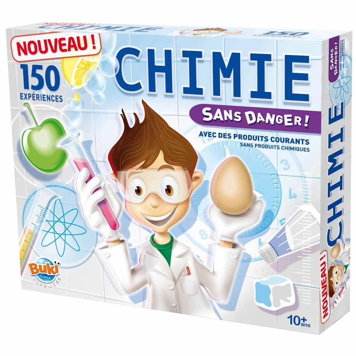 Grand Coffret Chimie 150 Expériences Buki | Chimie tout Jeux Educatif 10 Ans