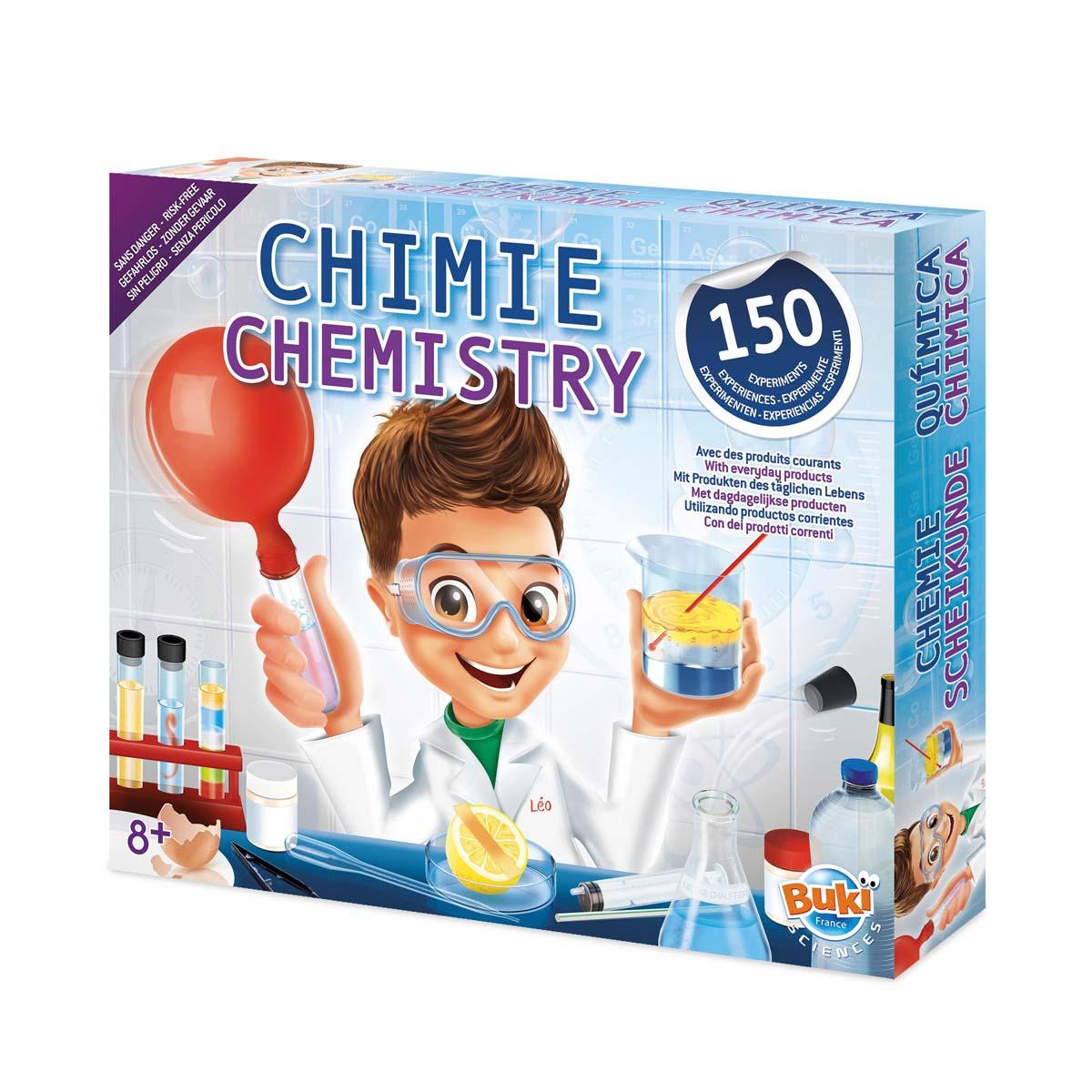 Grand Coffret Chimie 150 Expériences destiné Jeux Educatif 9 Ans