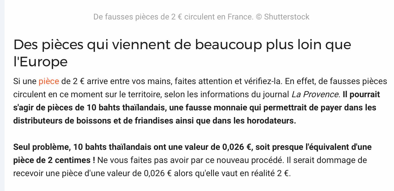 Grand Euville : 4 Villages: De Fausses Pièces De 2 Euros En intérieur Fausses Pieces Euros