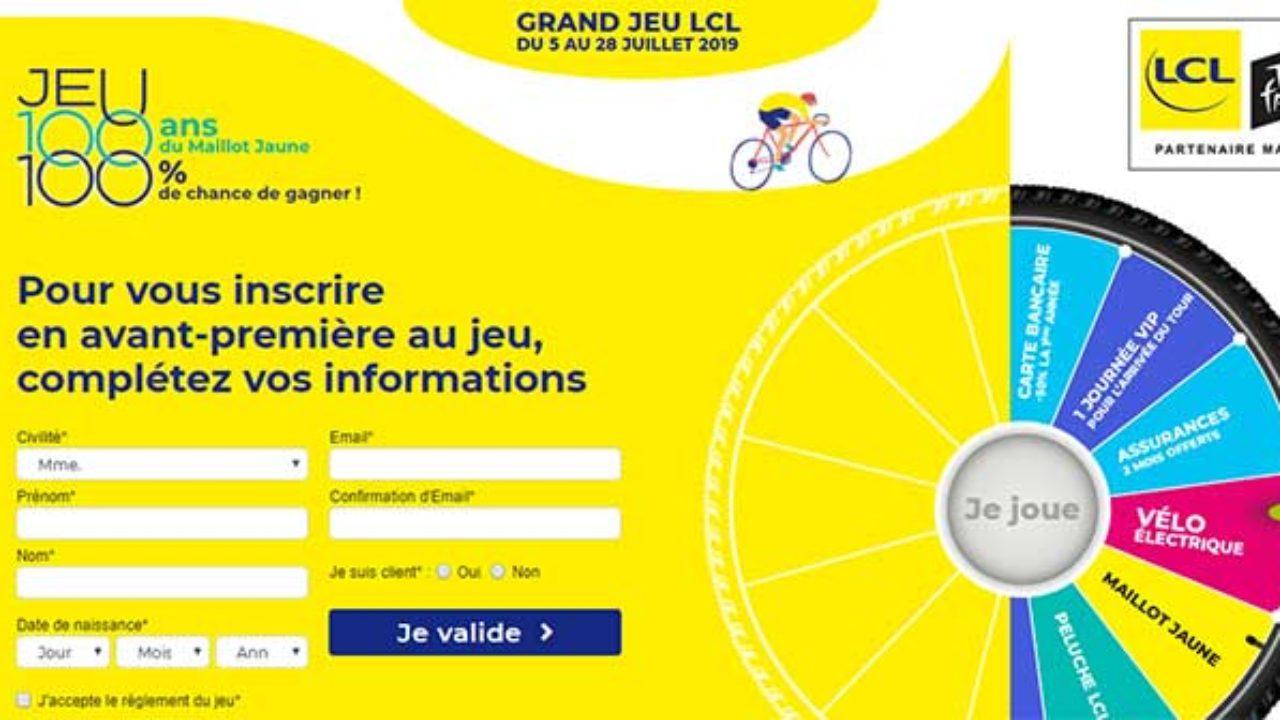 Grandjeu.lcl.fr – Grand Jeu Lcl Tour De France 2019 concernant Jeu Carte De France