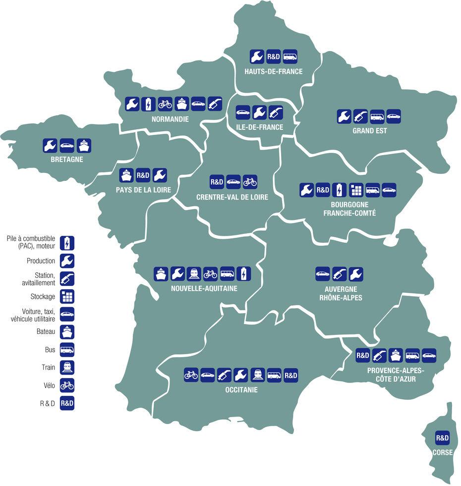 Graphie] Carte De France Des Régions Mobilisées Pour L pour Nouvelles Régions De France 2017