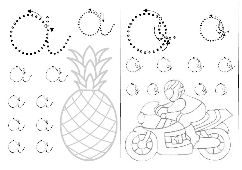 Graphisme Gs : Repasser - Le Tableau Blanc dedans Exercice Graphisme Cp