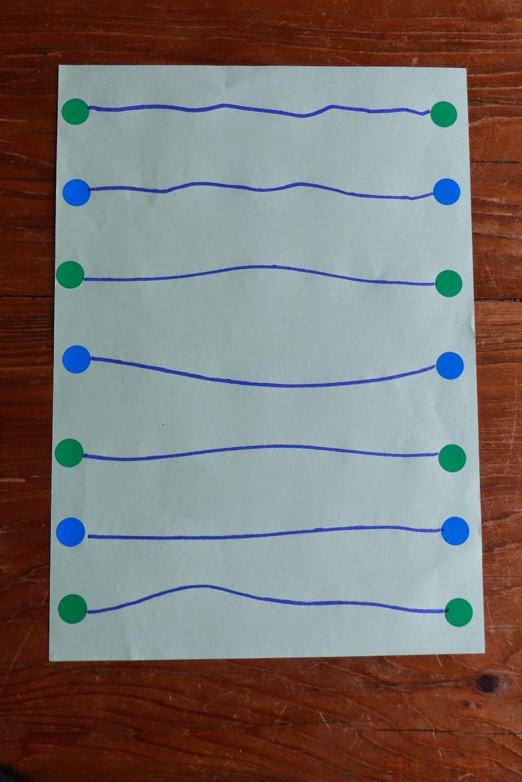 Graphisme Le Trait Horizontal En Petite Section | Graphisme à Exercice Petite Section En Ligne