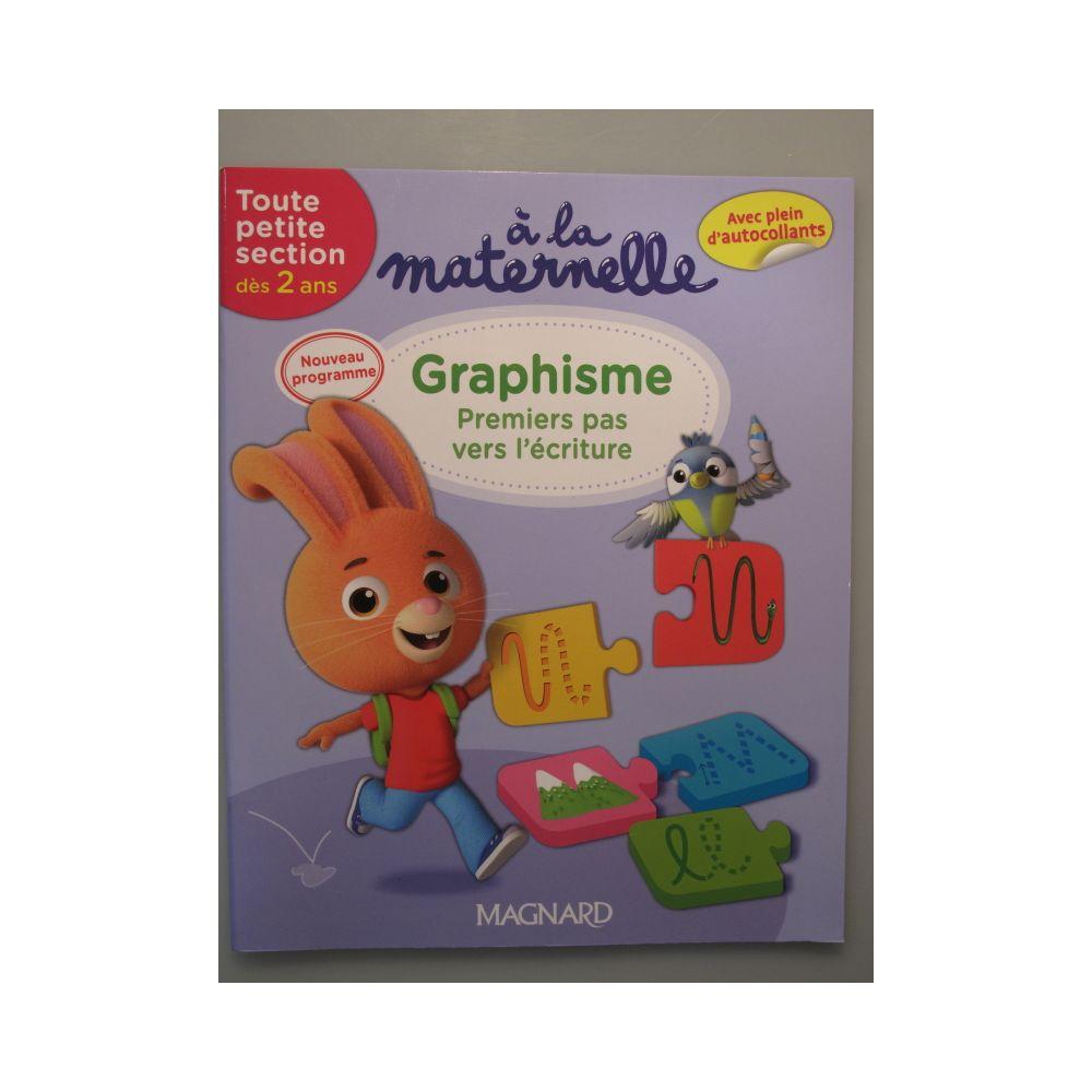 Graphisme Premiers Pas Vers L'écriture. A La Maternelle tout Livre Graphisme Maternelle