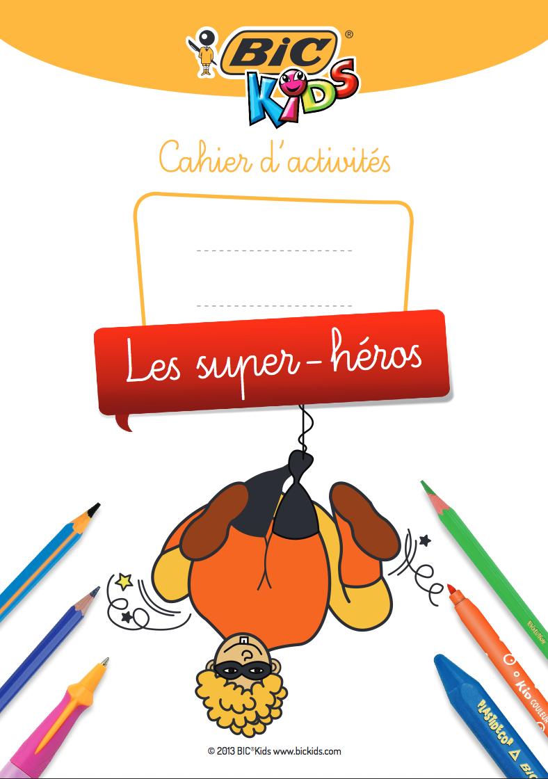Gratuit-Cahier D'activités À Imprimer Sur Les Super-Héros à Jeux Memoire Gratuit