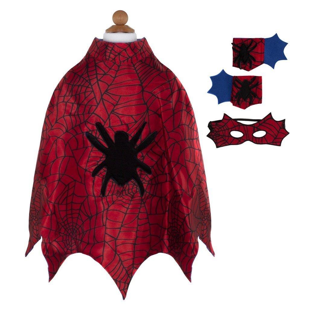 Great Pretenders Cape Et Masque Spiderman tout Masque Spiderman A Imprimer