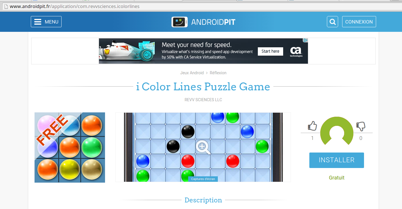 Great Review At Androidpit - I Color Lines Puzzle Game concernant Puzzle Photo Gratuit