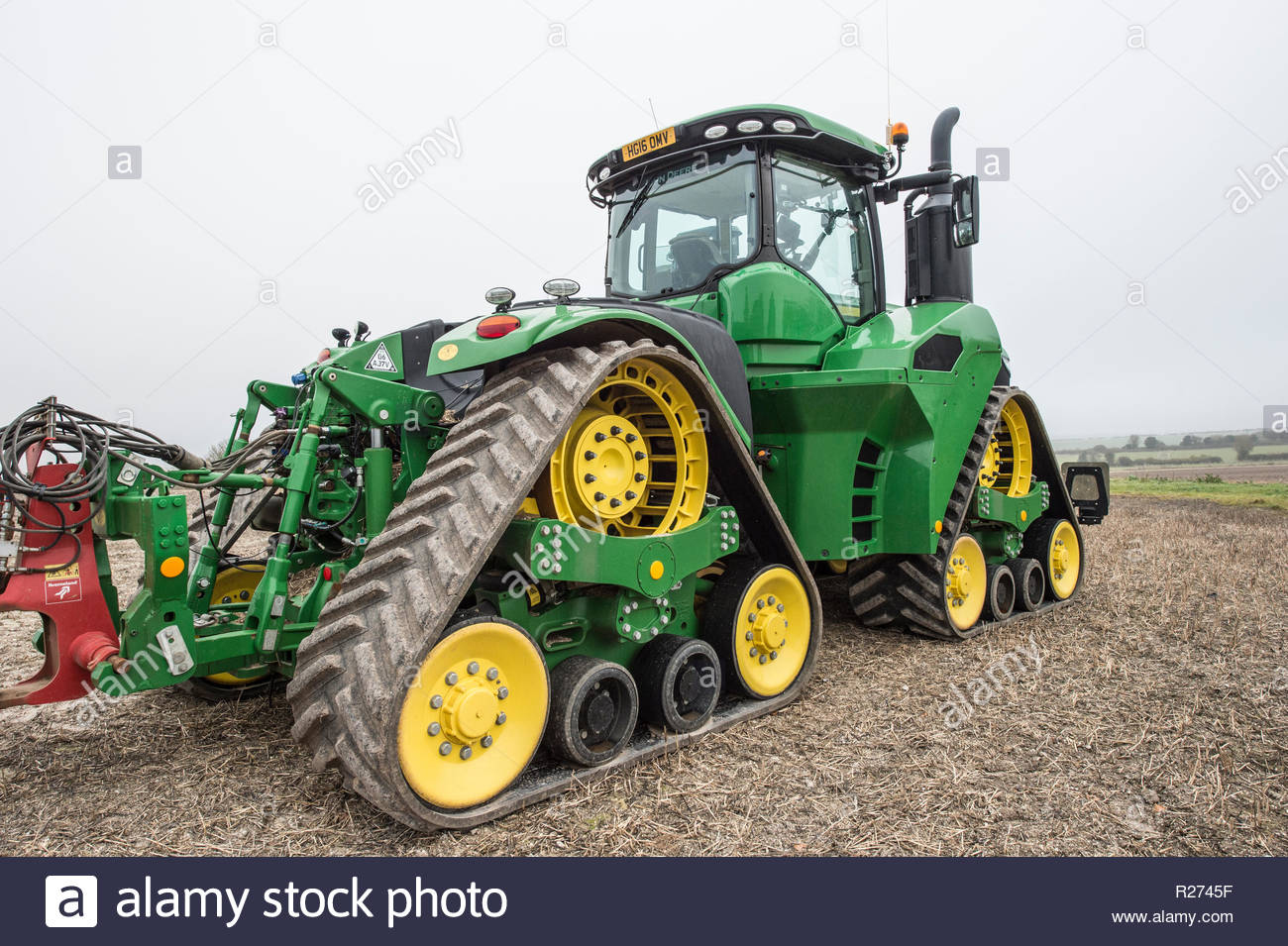 Green Tractor Photos & Green Tractor Images - Alamy intérieur Dessin Animé De Tracteur John Deere