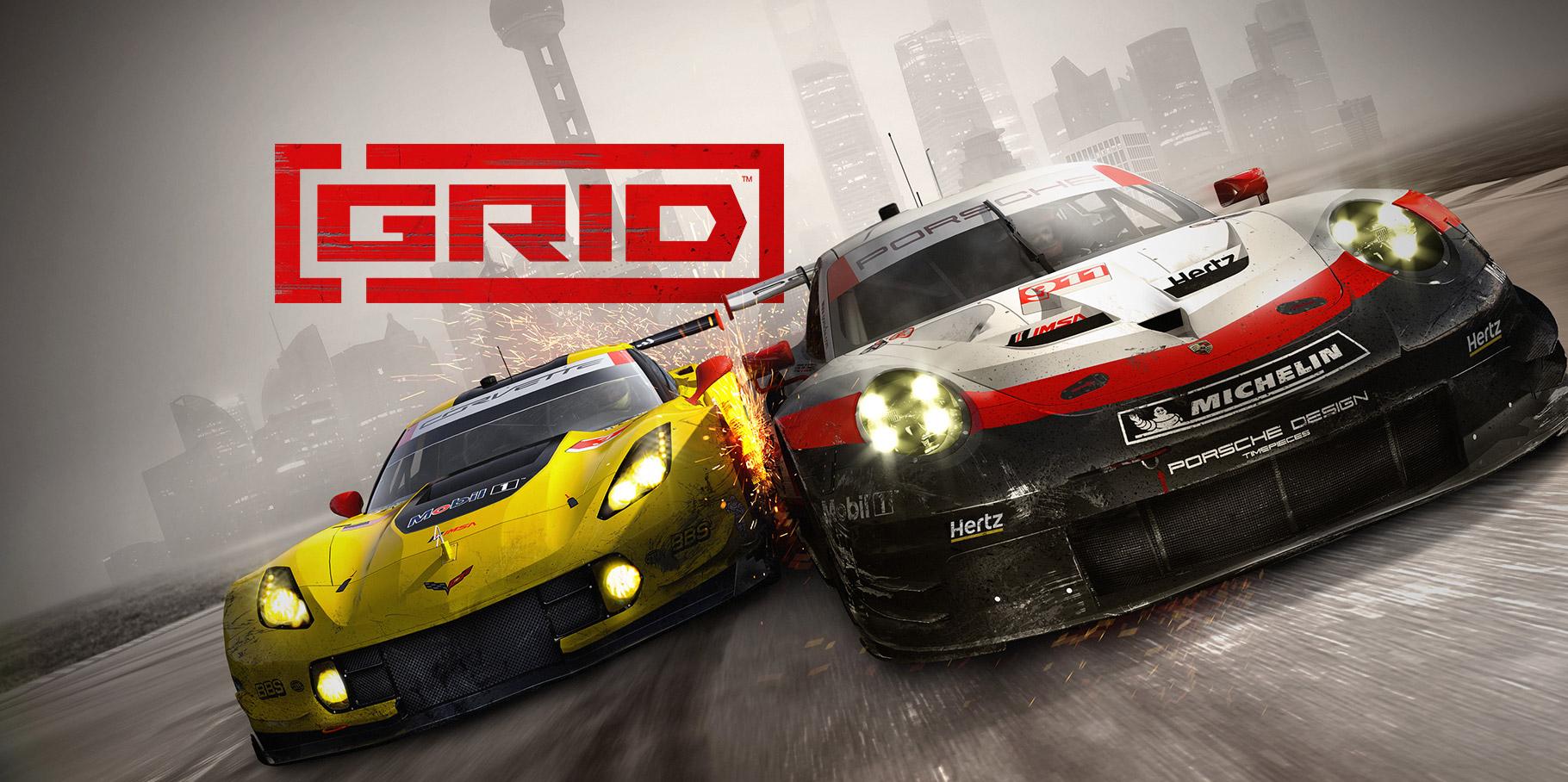 Grid - Jeuxvideo pour Jeux De Cours De Voiture