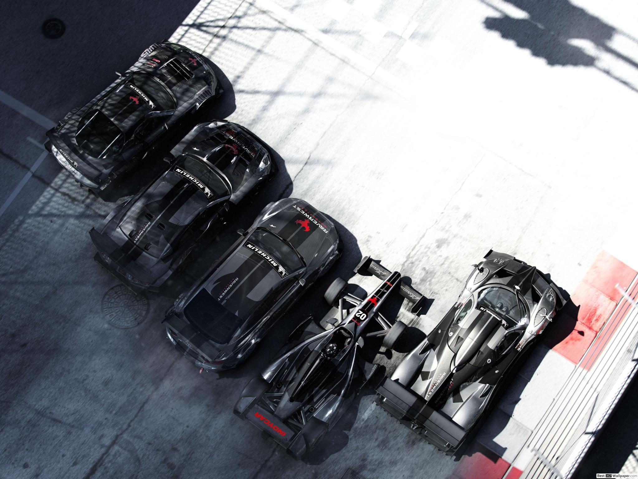 Grille Autosport (Jeu Vidéo) - Voitures De Course Hd Fond D concernant Mini Jeux De Voiture