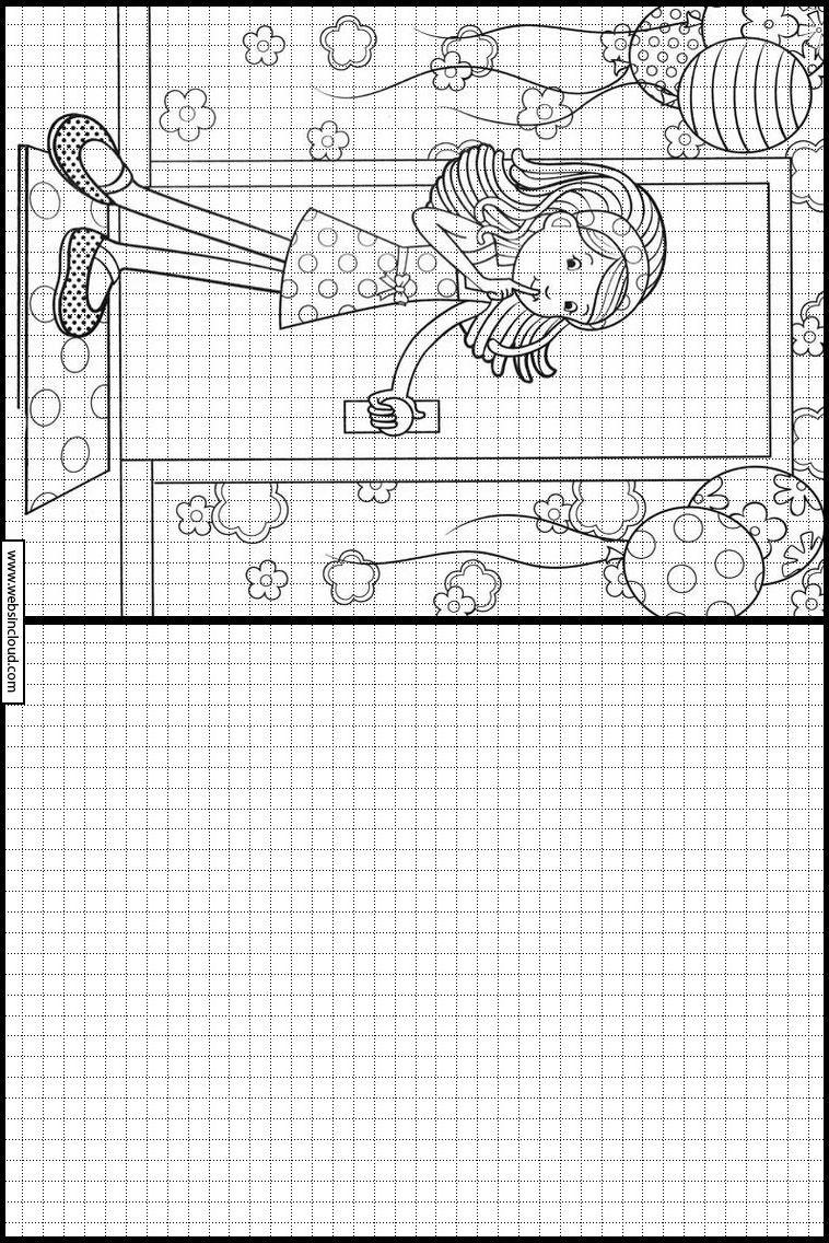 Groovy Girls 11 Apprendre À Dessiner. Activités Pour Les concernant Quadrillage À Imprimer