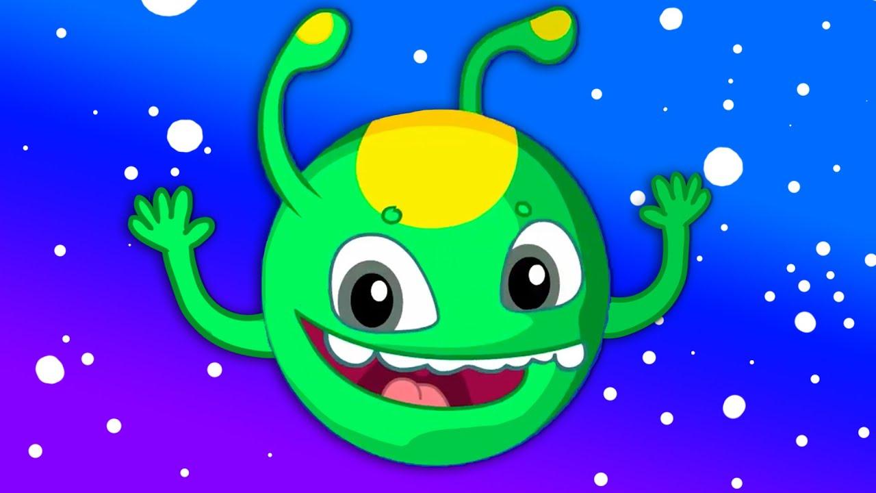 Groovy Le Martien & Phoebe Apprennent Les Planètes Du Système Solaire -  Dessins Animés Pour Enfants avec Dessin Du Système Solaire