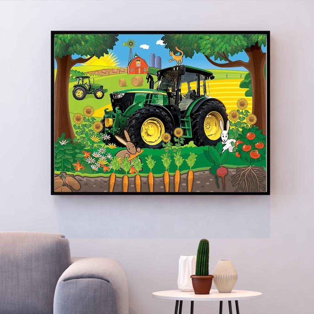 Grossiste Tracteurs Du Monde-Acheter Les Meilleurs Tracteurs pour Dessin Animé De Tracteur John Deere