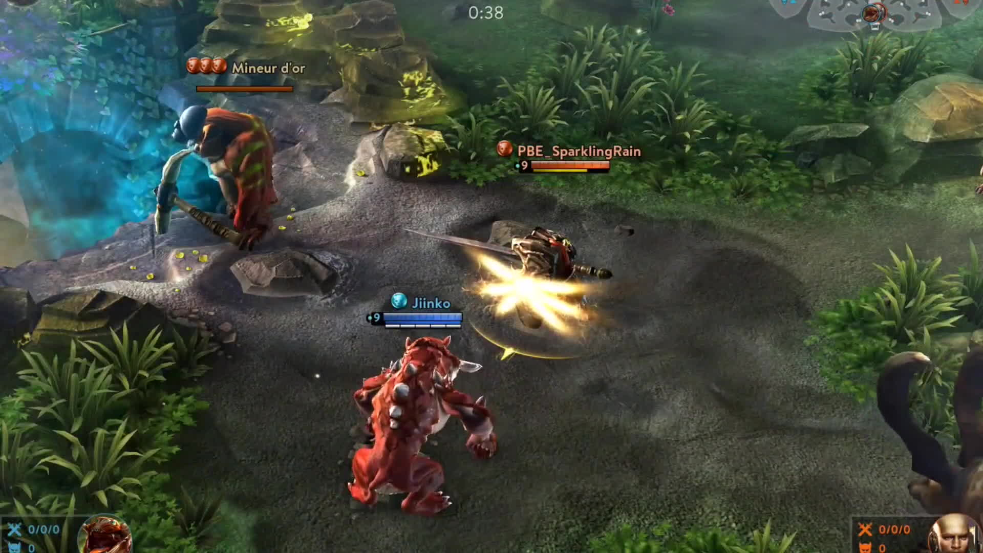 Grumpjaw Vs Everything - Vainglory Experiments Gif tout Mineur D Or