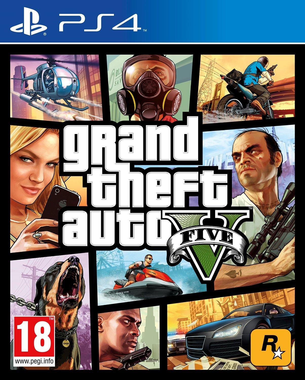 Gta (Grand Theft Auto) 5 Sur Playstation 4 - Jeuxvideo tout Jeux Video 5 Ans