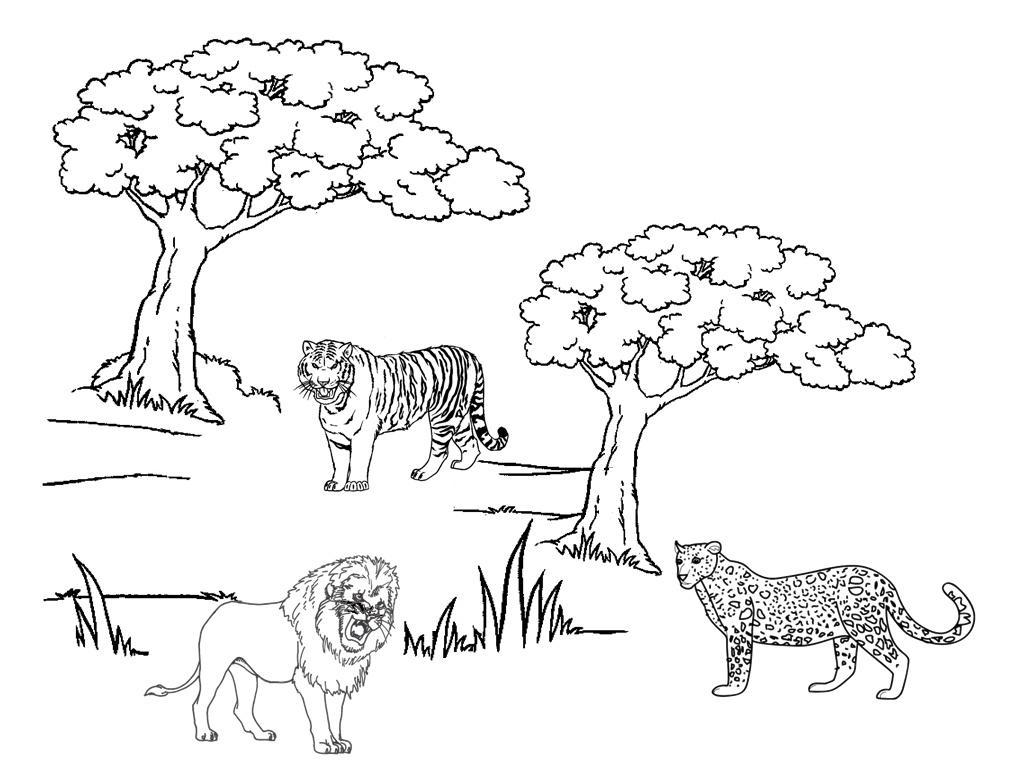 Guépard #40 (Animaux) – Coloriages À Imprimer tout Guépard Dessin