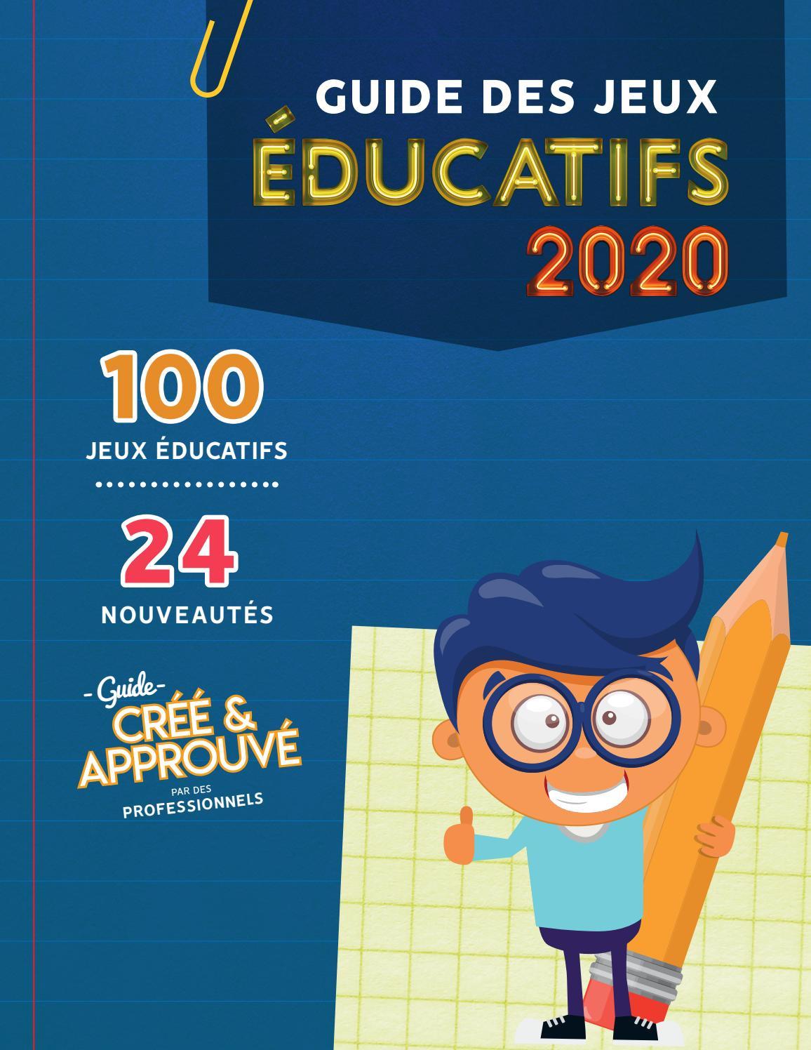 Guide Des Jeux Éducatifs 2020 By Castellojeu - Issuu tout Jeux Educatif 9 Ans