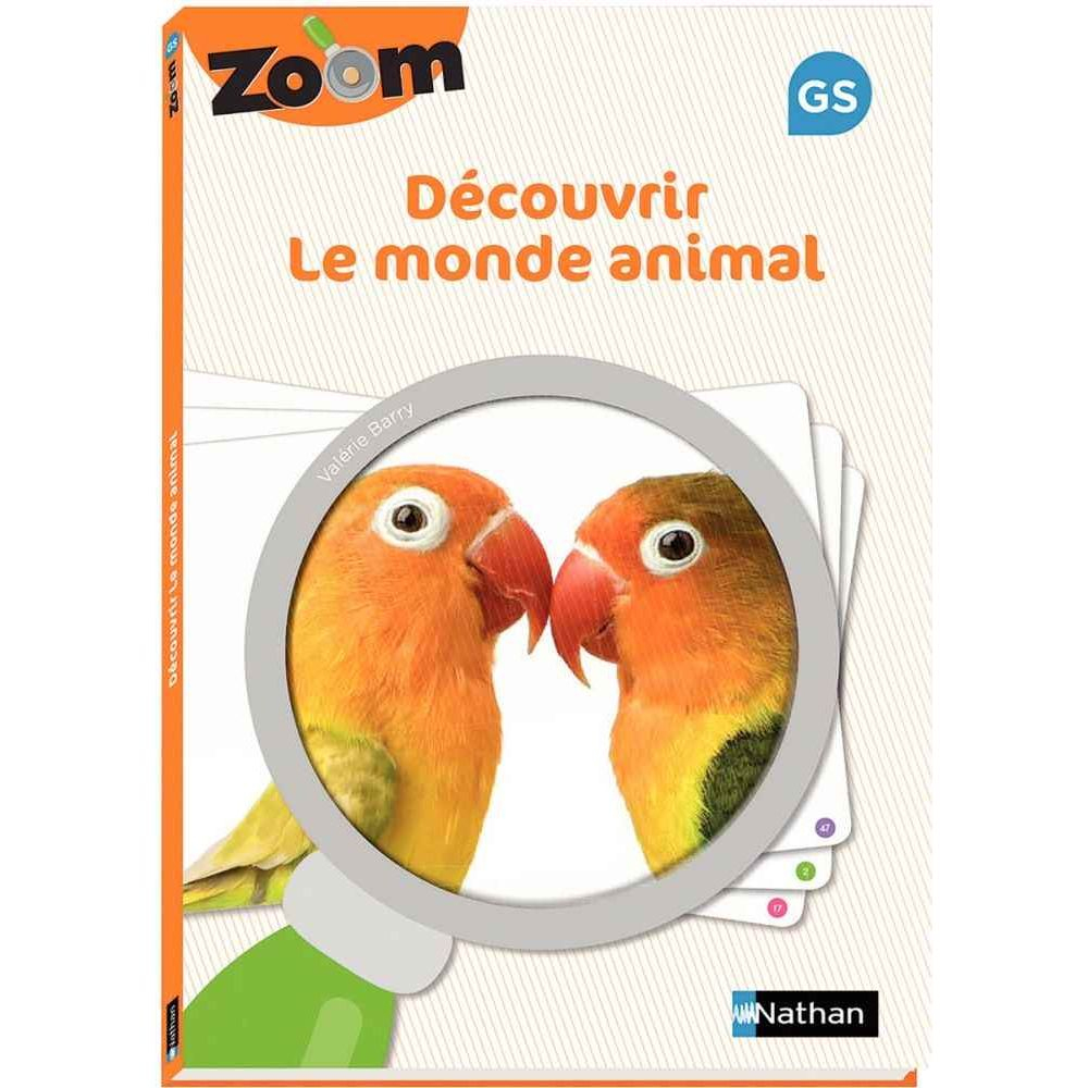 Guide Zoom Découvrir Le Monde Animal Grande Section - Nathan destiné Jeux Educatif Gs