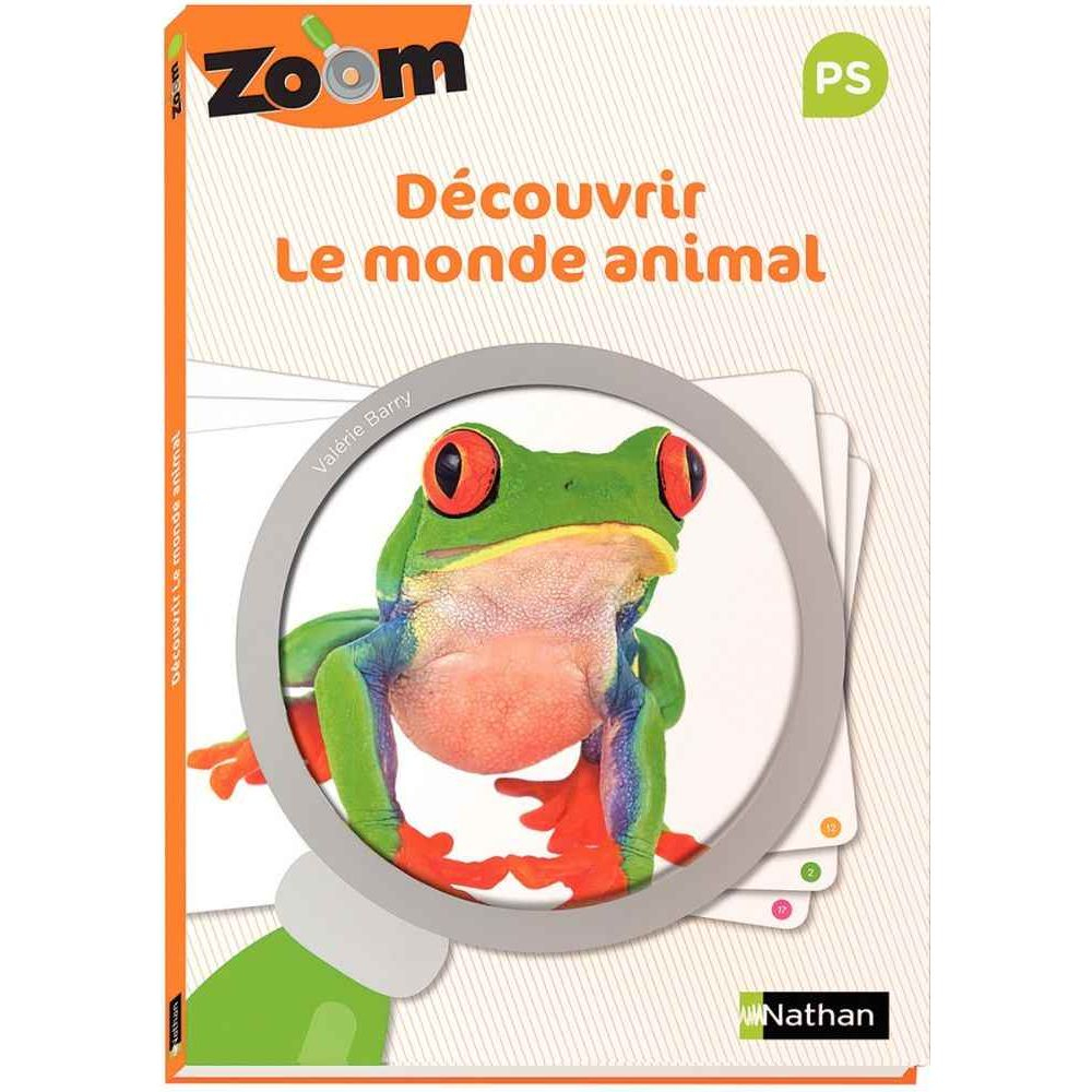 Guide Zoom Découvrir Le Monde Animal Petite Section - Nathan pour Jeux Educatif Petite Section