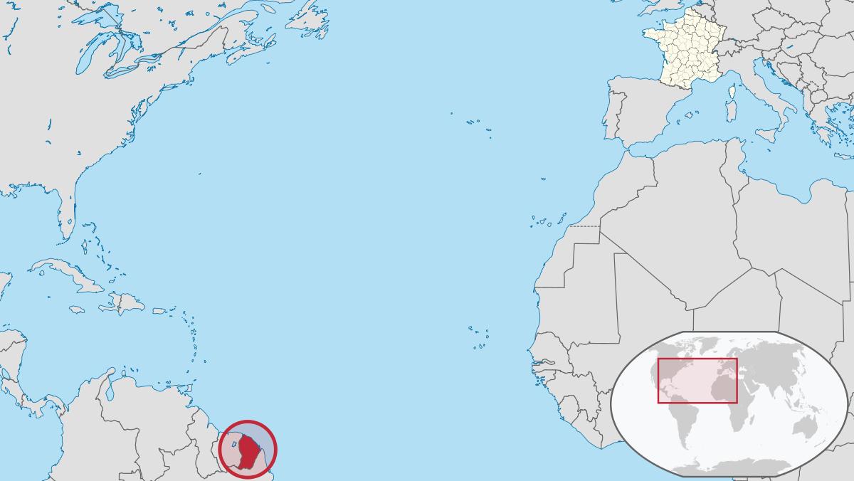 Guyane — Wikipédia tout Liste Des Régions Françaises
