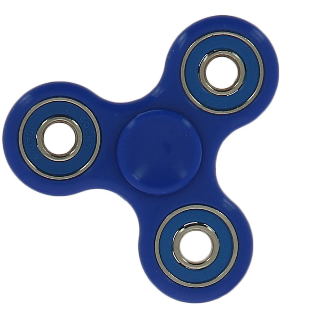 Hand Spinner Jeu Roulement A Billes Anti Stress Bleu dedans Jeux De Anti Stress