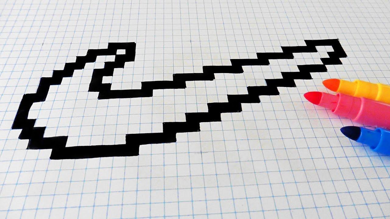Handmade Pixel Art - How To Draw Nike Logo #pixelart destiné Modele Dessin Pixel