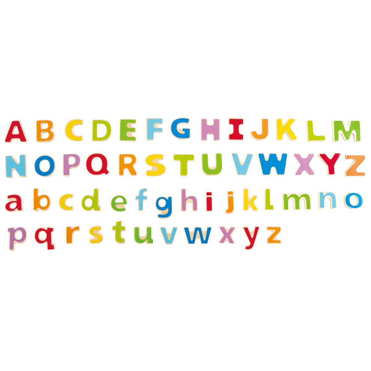 Hape Apprendre À Lire Et À Écrire - Alphabet Magnétique E1047 pour Ecrire L Alphabet