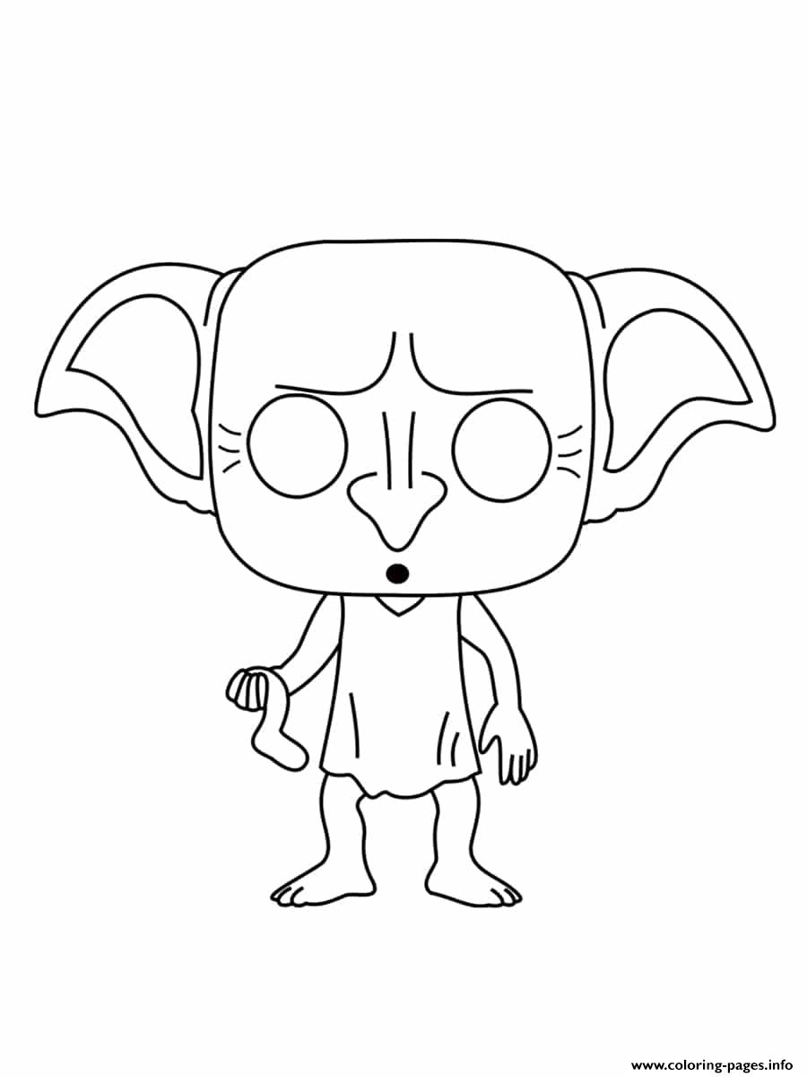 Harry Potter Dobby Coloring Pages concernant Dessin D Harry Potter
