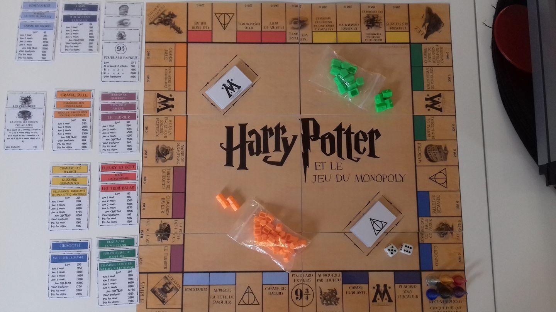 Harry Potter Et Le Jeu Du Monopoly - Maîtresse Ninie dedans Billet À Imprimer Pour Jouer