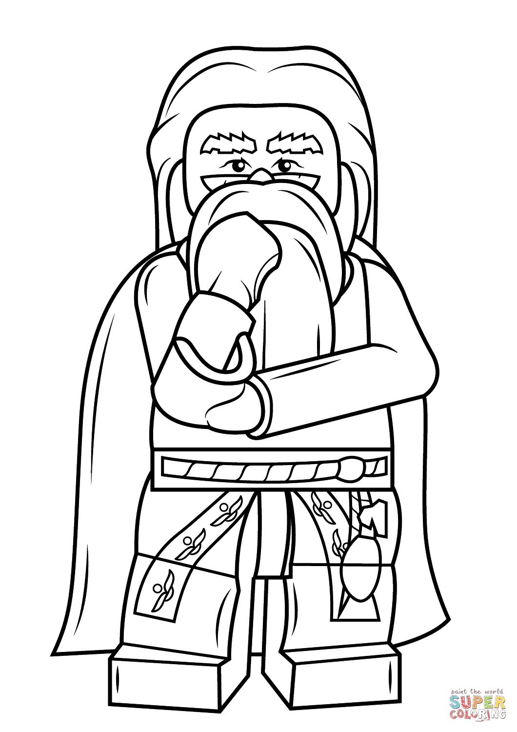 Harry Potter Lego Coloring Pages encequiconcerne Dessin D Harry Potter