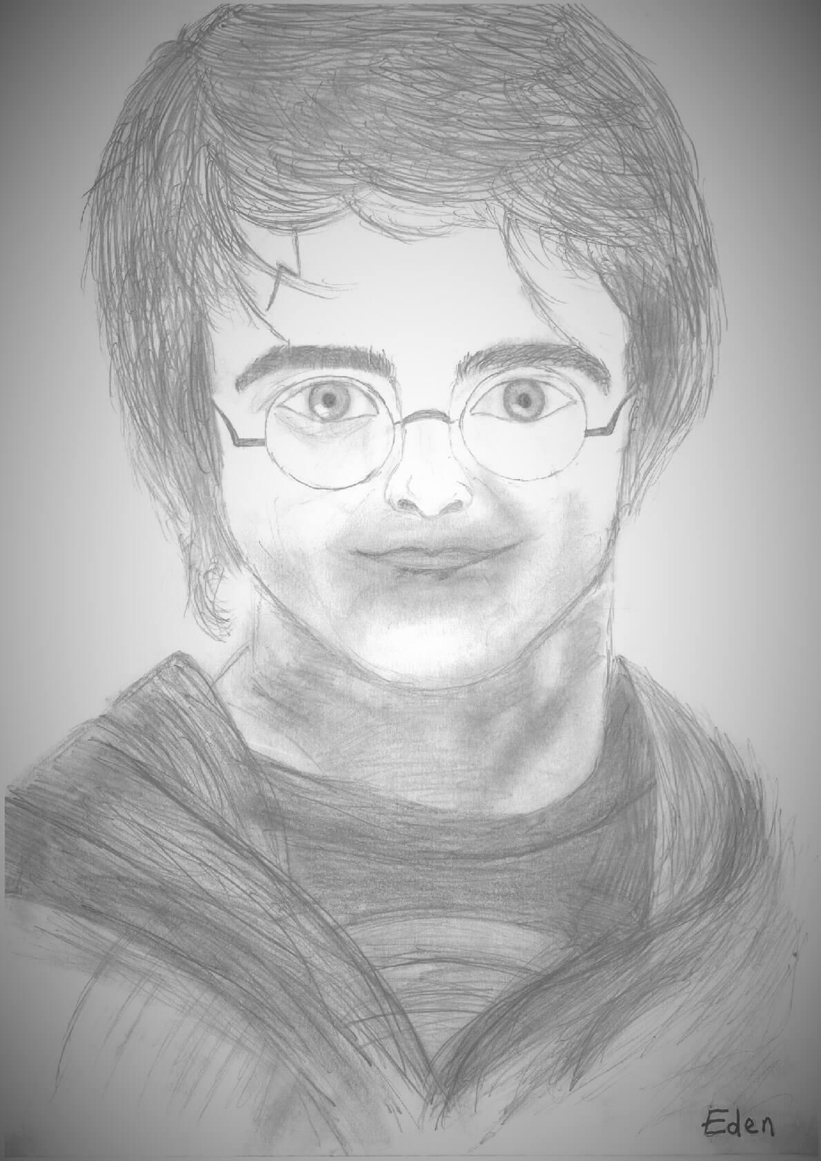 Harry Potter - Prenez La Parole ! concernant Dessin D Harry Potter