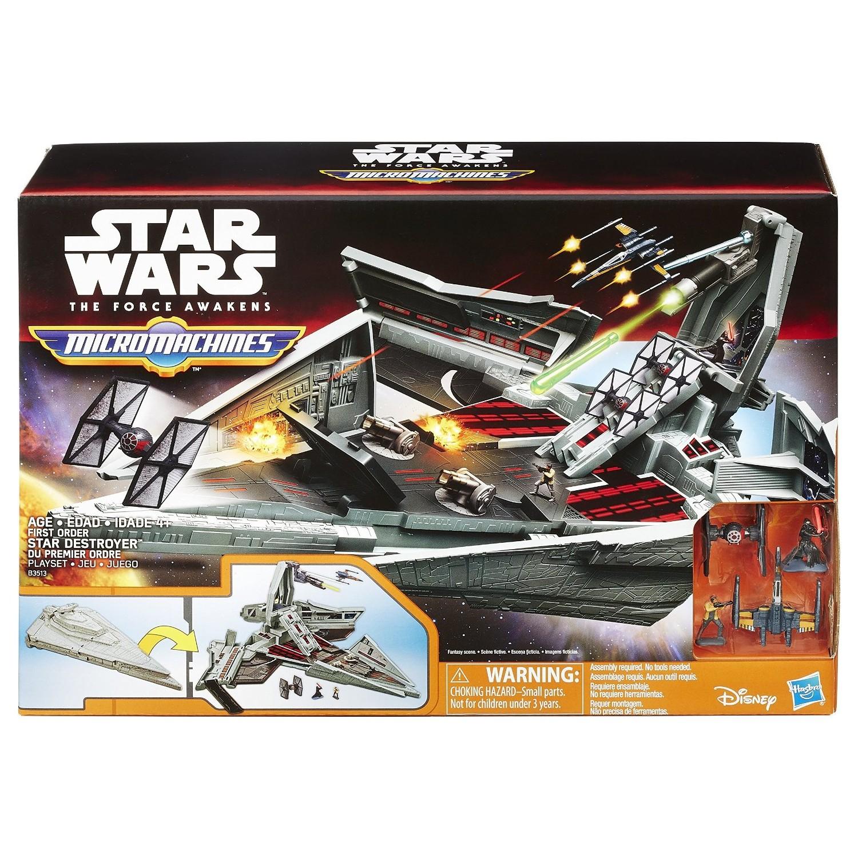 Hasbro Disney Star Wars 7 The Force Awakens Micromachines Fiyatı tout Jeu Force 4
