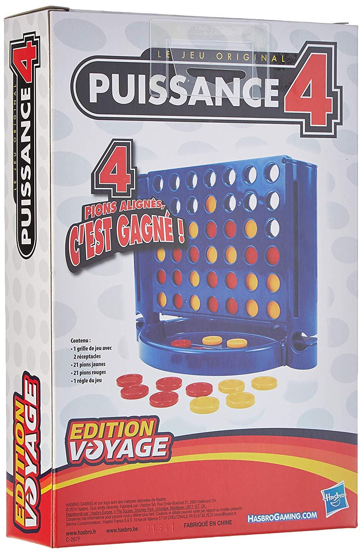 Hasbro - Puissance 4 Édition Voyage serapportantà Jeux Du Puissance 4