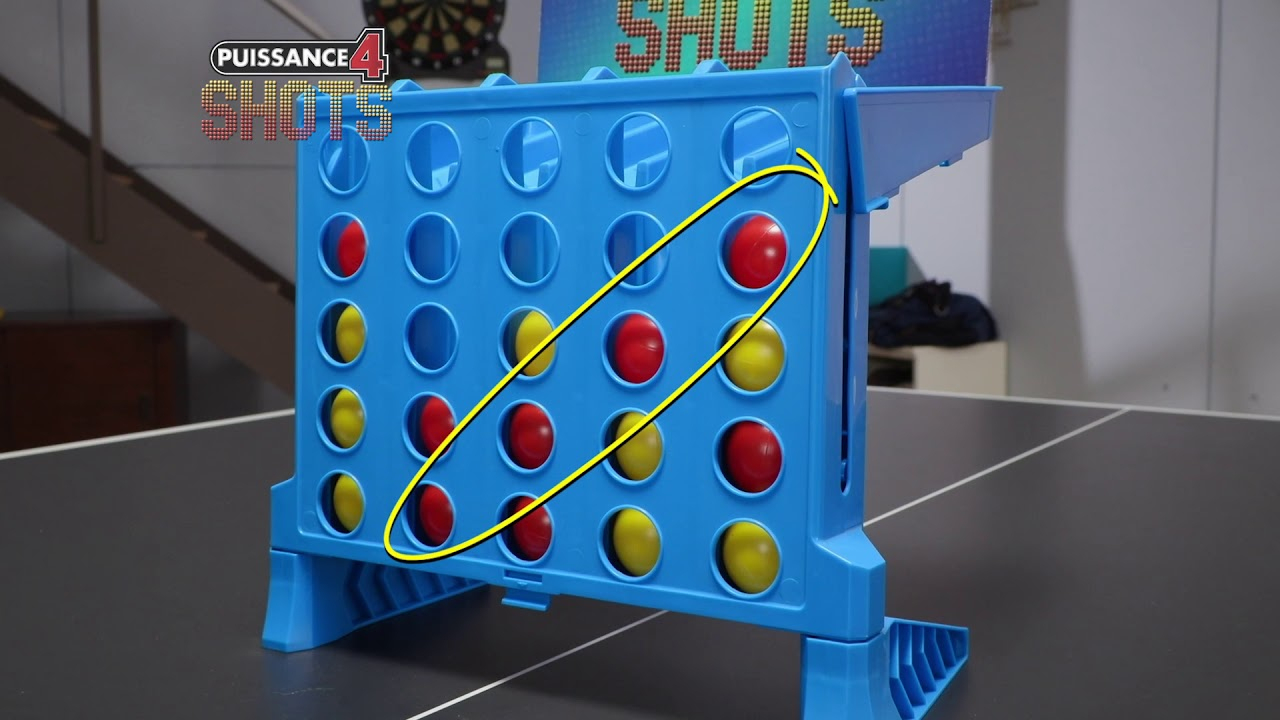Hasbro Puissance 4 Shots serapportantà Jeu De Puissance 4 Gratuit En Ligne