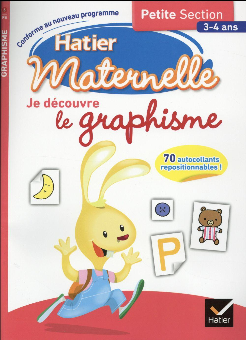 Hatier Maternelle ; Je Découvre Le Graphisme ; Petite tout Livre Graphisme Maternelle