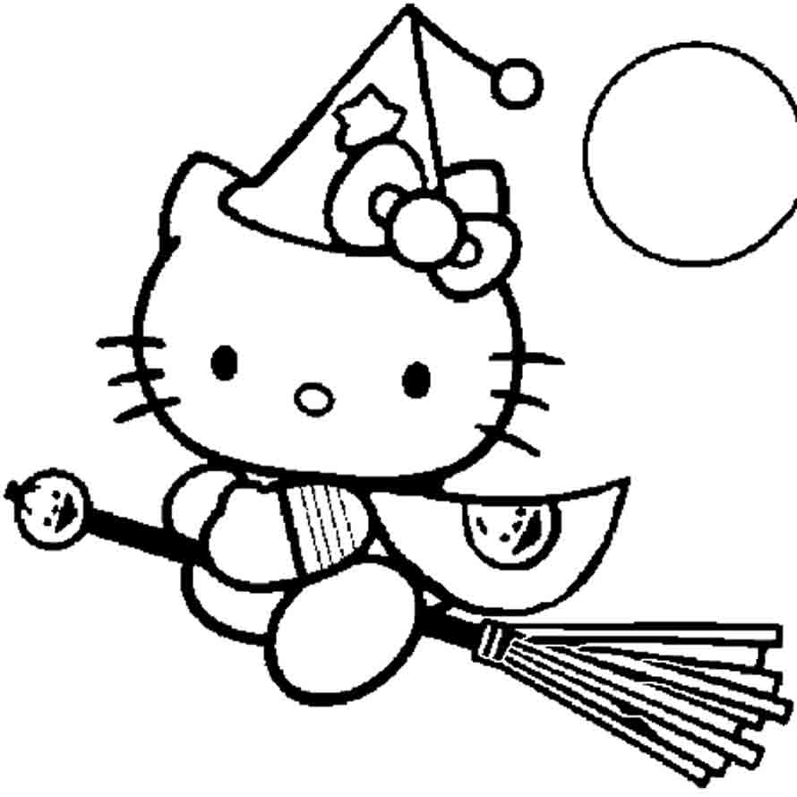 Hello Kitty #157 (Dessins Animés) – Coloriages À Imprimer concernant Hello Kitty À Dessiner