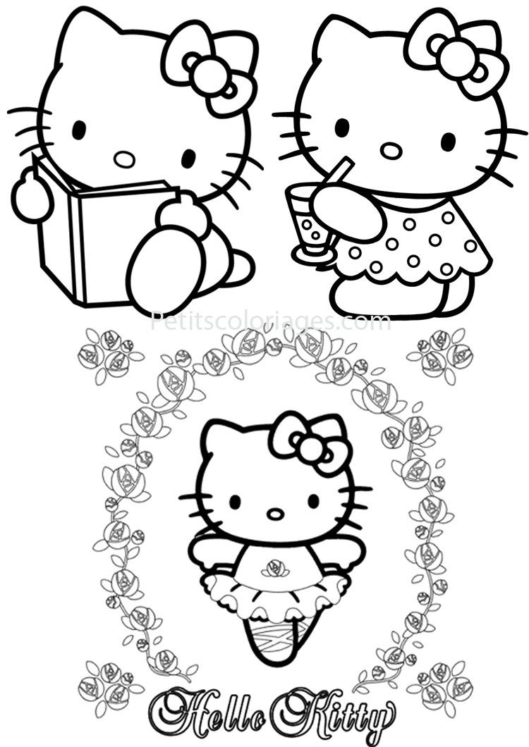 Hello Kitty #185 (Dessins Animés) – Coloriages À Imprimer concernant Livre De Coloriage À Imprimer