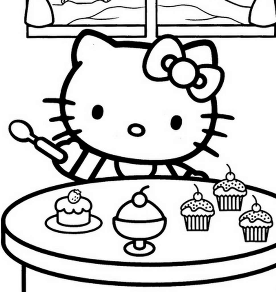 Hello Kitty #186 (Dessins Animés) – Coloriages À Imprimer tout Hello Kitty À Dessiner