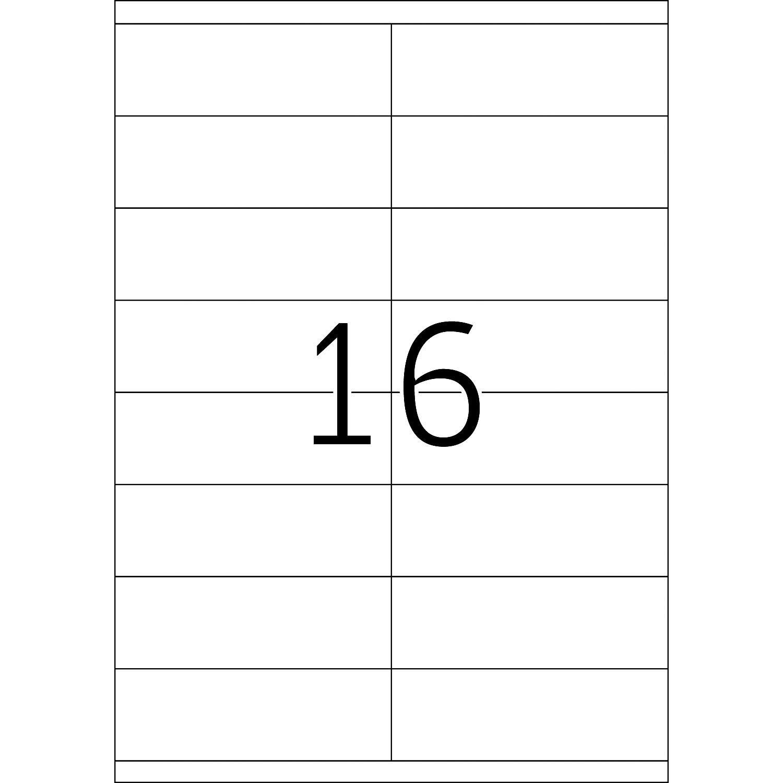 Herma Étiquette : Labels White 105X35 Superprint 1600 Pcs. - Blanc destiné Etiquette Chiffre A Imprimer